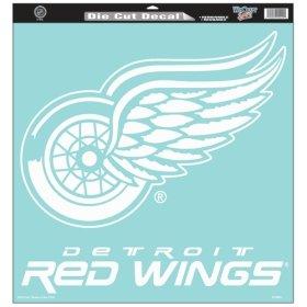 Wincraft Detroit Red Wings 18x18 Die Cut Decal - Detroit Red Wings 18-in ()