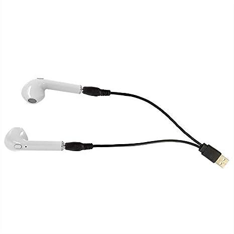 HBQ-i7 TWS Gemelos Auriculares inalámbricos Bluetooth V4.2 Auriculares estéreo Auriculares Mini Auriculares con micrófono para teléfono móvil: Amazon.es: ...