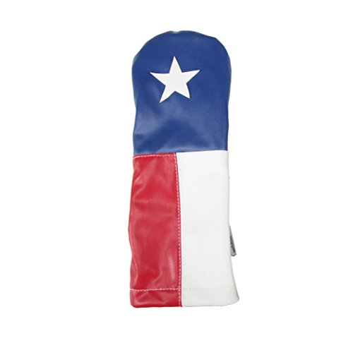 - Sunfish Leather Driver Headcover Texas The Lone Star!