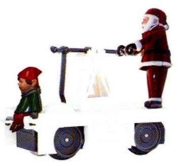 - Williams By Bachmann Christmas Santa & Elf O Scale Operating Handcar by Bachmann Trains