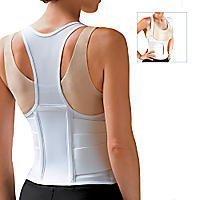 ORIGINAL CINCHER¨ BACK SUPPORT, Size: XXX-Large, White