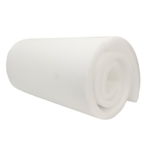 Hitommy 208x60x2.5cm High Density Seat Foam Rubber Replacement Upholstery Cushion Foam