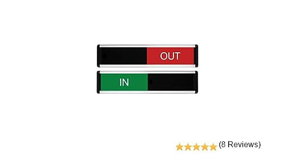 Viro en/out símbolo de puerta corredera (verde/rojo Edition) 264 x ...