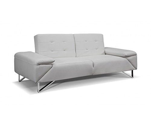 Contemporary Sofa Bed in White