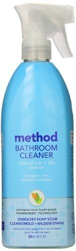 Method Natural Tub plus Tile Bathroom Cleaner - Eucalyptus Mint -- 28 fl oz (Natural Bathroom Tiles)