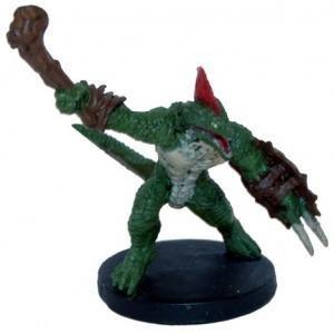 Amazon Com D D Minis Lizard Folk Fighter 11 Rage Of
