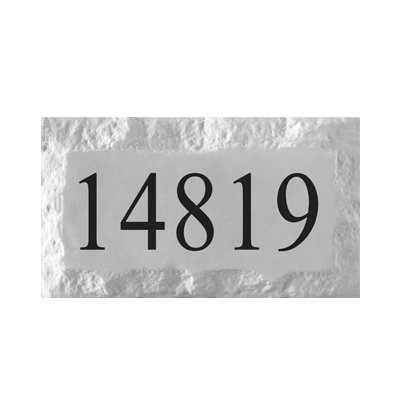 Personalized Address Plaque by ABC Address Blocks. 9