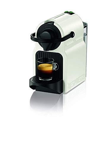 Krups Nespresso Inissia XN1001 – Cafetera monodosis de cápsulas Nespresso, 19 bares, apagado automático, color blanco…