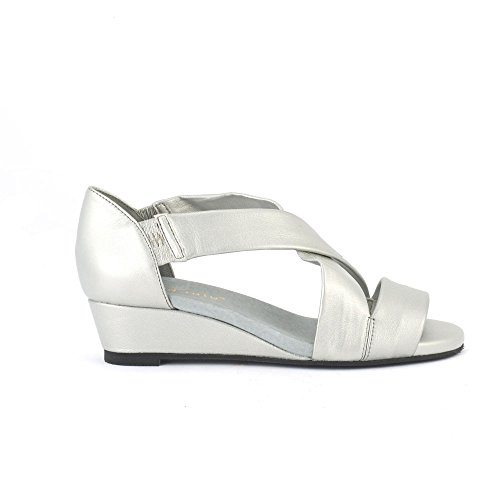 David Tate - Womens Swell Sandals Silver Lamb zTSviM