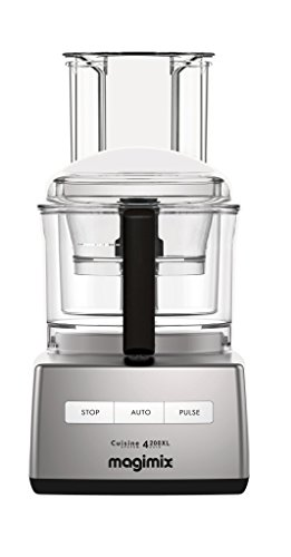 Magimix 4200 XL Food Processor by Robot Coupe (14 Cup, Chrome) (Magimix By Robot Coupe Food Processor 14 Cup)