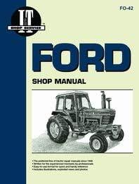 Amazon Com Ford 7700 Tractor Service Manual It Shop Home Improvement