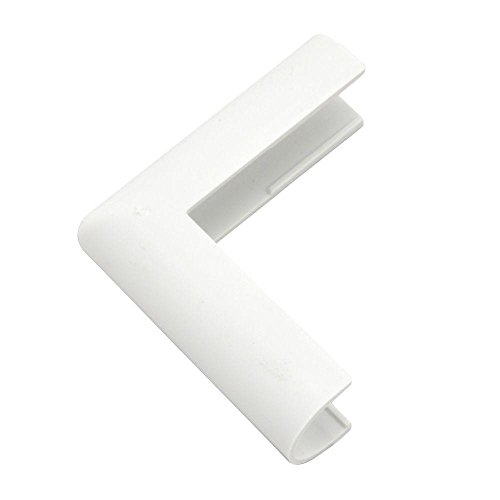 (Legrand - Wiremold C18 Plastic Outside Elbow Cover, White)