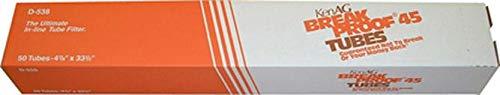 KEN AG D538 048561 Breakproof Milking System Filtering Tube Tan, 4 7/8 x 33.5 by KEN AG