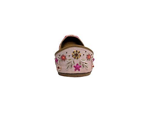 Shoes Indian Ethnic Juttti Step Ladies Style Beaded Jutti N Flat Bridal q4OwPA