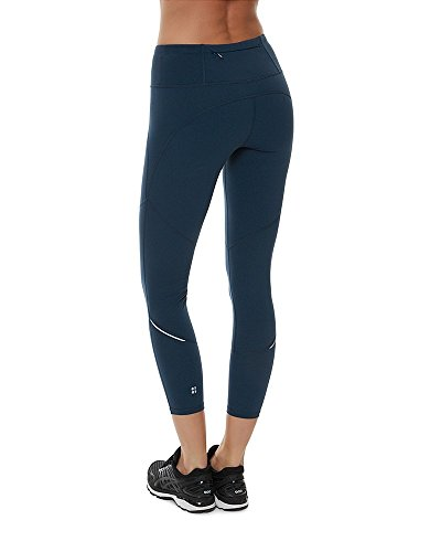 Sweaty Betty Women's Power 7/8 Workout Leggings (Beetle Blue) - S