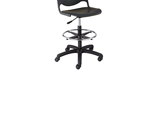 Polypropylene Drafting Stool Charcoal Dimensions: 19.5