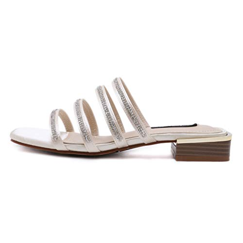 Jitian Jitian Donna Sabot Sabot sandali Beige Rfq58wP