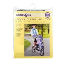 Babies R Us Jogging Stroller Rain Cover Clear with Storage P
