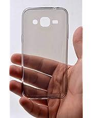 Zore 3331 Galaxy J2 ile Uyumlu Kılıf, Ultra İnce Silikon Kapak, 0.2 mm, Füme