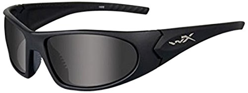 Wiley-X 1004 ROMER 3 2 Lens Smk/Clr /Matte Blk Frame by Wiley X