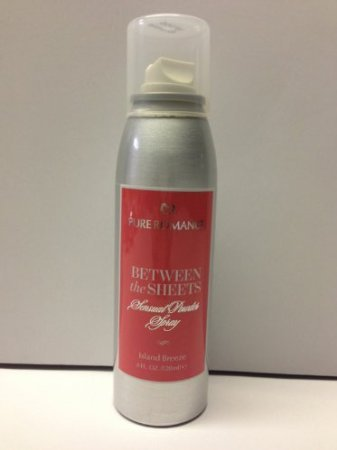 Pure Romance Between The Sheets Scented Powder Spray (Island (Pure Island)