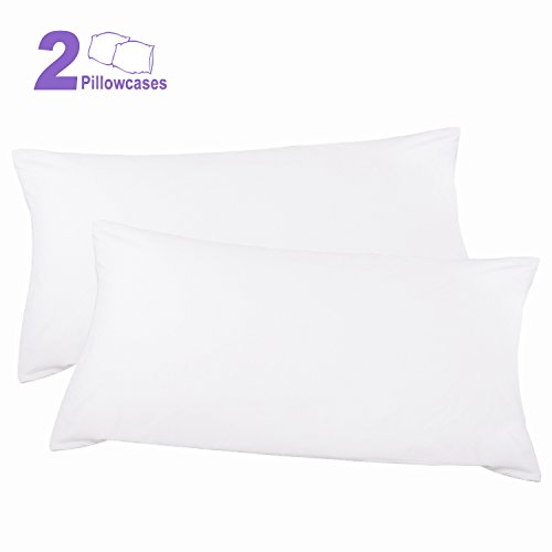 Discover Bargain Adoric Life Pillow Case King Size 100% Cotton Pillowcases Super Soft Dust Mite Resi...