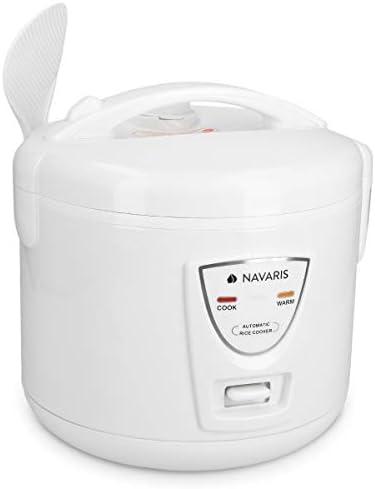 Navaris Arrocera de 1.2 litros con función para Mantener Calor ...