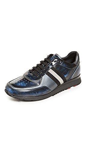 Barato Venta Top Quality En Venta Barato Auténtico Zapatillas De Deporte Aston Bally Hombres Azul Beso Sitios web de venta baratos hiS0Lx