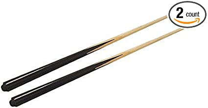 """set of 2 Shorty Cues TR sports 36/"""" Hardwood Billiard//Pool House Cue Stick"""