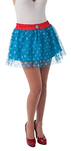 [Rubie's Costume Women's Marvel Universe Adult American Dream Skirt, Multi, One Size] (Women X Men Costumes)