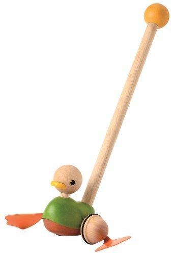 【新発売】 Plan Plan Toys Push Push [並行輸入品] Along Duck [並行輸入品] B01K1UOMRK, タッコマチ:b12fe568 --- clubavenue.eu