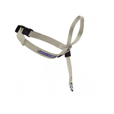 (Gentle Leader Quick Release Dog Head Collar Color: Fawn, Size: Medium (11.5