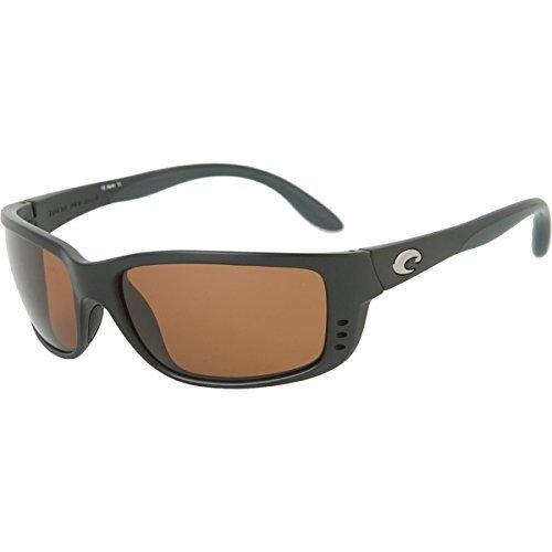 Costa Del Mar ZN11OCGLP Zane Sunglass, Black - Zane Sunglasses Costa