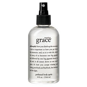 (philosophy amazing grace perfumed body spritz, 8 fl oz)