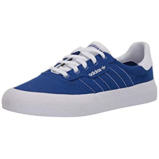 adidas Originals Men's 3MC Regular Fit Lifestyle Skate Inspired Sneakers Shoes, Team Royal Blue/ftwr White/ftwr White, 7.5 M US