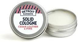 Solid Cologne - Men's Solid Cologne | Cedar Leather & Pine