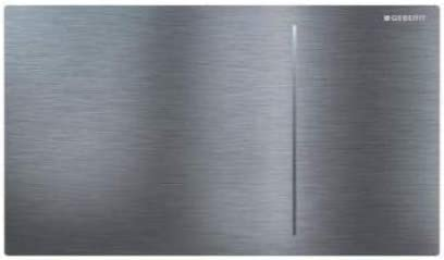 Geberit 115.620.FW.1 Sigma70 Flush Plate Brushed Stainless Steel