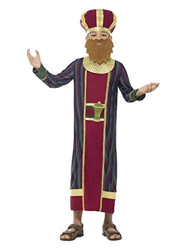 Balthazar Child Costumes - Maroon and Gold King Balthazar Boy
