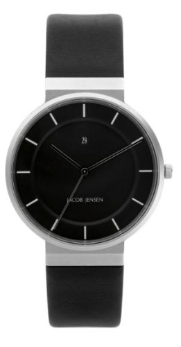 Jacob Jensen 880 Mens Dimension All Black Watch