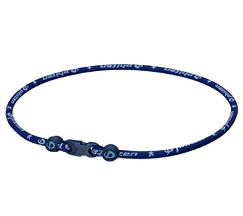 Phiten Star Necklace, Navy, 22
