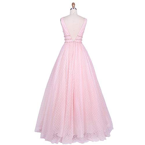 Traumhaft Linie A Damen Promkleider Partykleider Prinzess Tuell Charmant Abendkleider Lilac Lang Ballkleider 854BBq