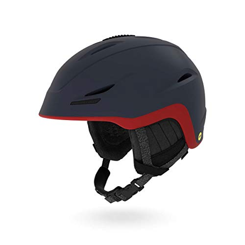 Giro Union MIPS Snow Helmet Matte Midnight/Dark Red Sierra MD 55.5-59cm ()