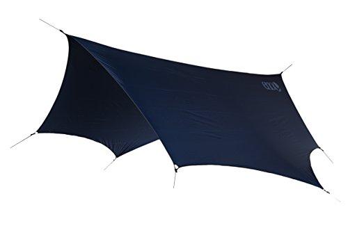 ENO – Eagles Nest Outfitters DryFly Rain Tarp, Ultralight Hammock Accessory, Navy