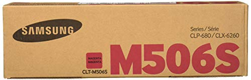 Samsung CLT-M506S Toner Cartridge Magenta for CLP-680ND, 6250FD, 6260FR
