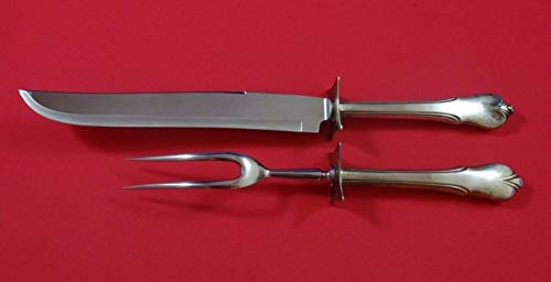 Grand Colonial by Wallace Sterling Silver Roast Carving Set Two Piece HHWS