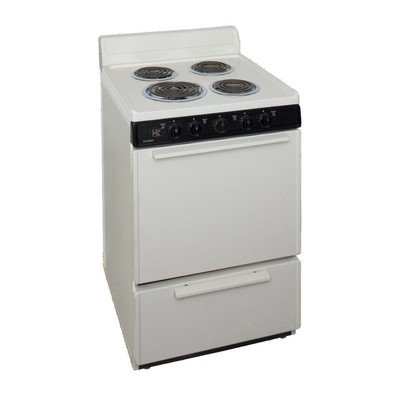 2.97 Cu. Ft. Electric Range Finish: (Electric Range Biscuit)