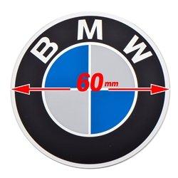 EnDuraLast BMW Replacement Logo Round Emblem 60mm Diameter 52 53 7 686 464