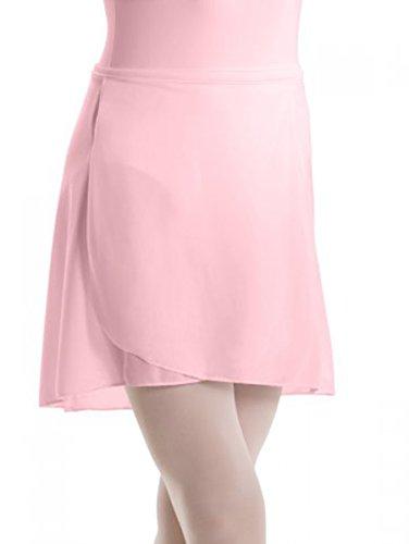 Motionwear Wrap (Motionwear Pull-On Wrap Crepe Skirt 1011 (MC (8-10), Pink))