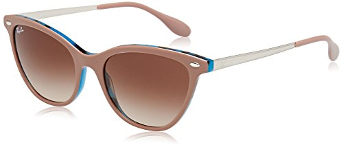 Ray-Ban Women's Acetate Woman Cateye Sunglasses, Top Light Brown on Havan, 54 - Ray Clubmaster Ban 54mm
