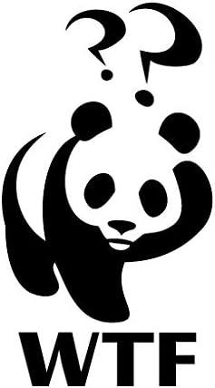 Leon Online Box Panda WTF - Vinilo Adhesivo para Coche, Bicicleta ...